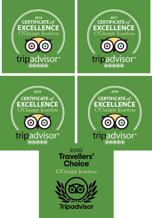 Celtic Impressions trip advisor certificate 2020