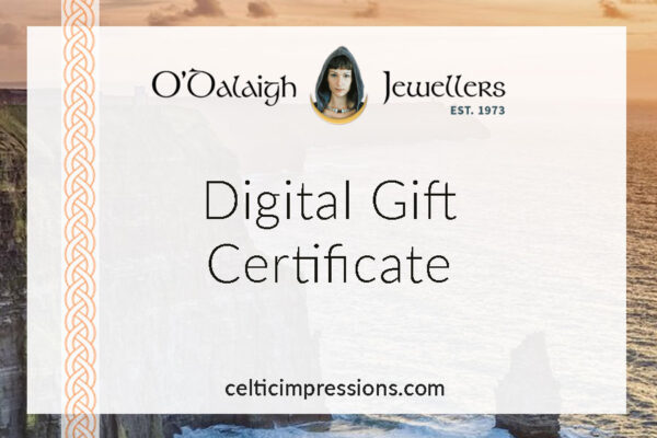 Buy Gift certificate Celtic Impressions