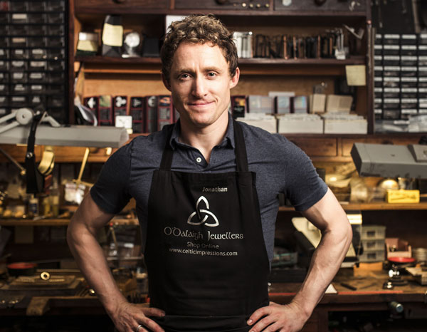 Jonathan in Flahship Store